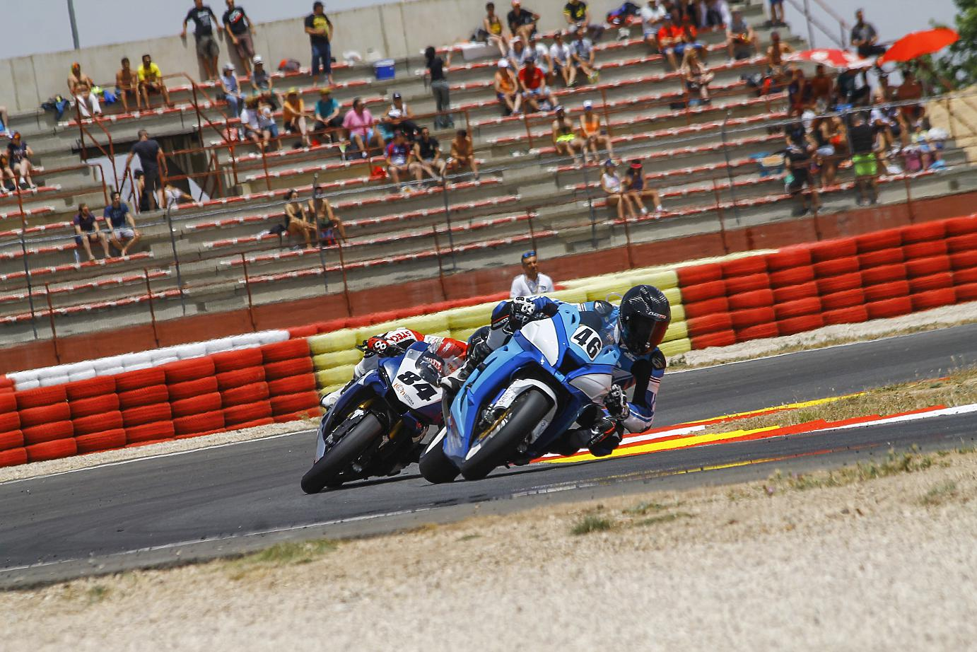 Albacete Circuit : 2016 european superbike championship pierre texier just outside the